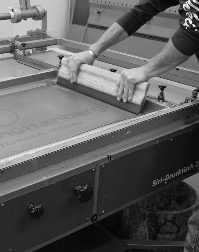Siebdruckwerkstatt